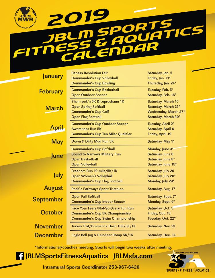 Race Calendar.Us Army Mwr Races