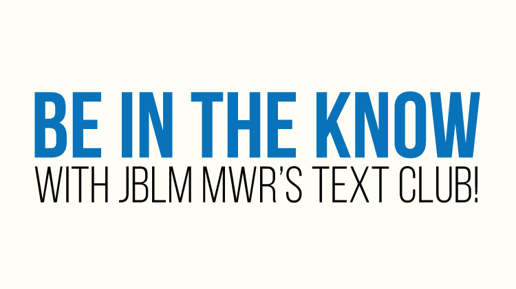 JBLM MWR Text Club