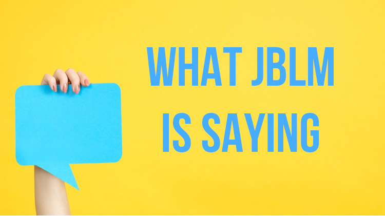 What JBLM is Saying