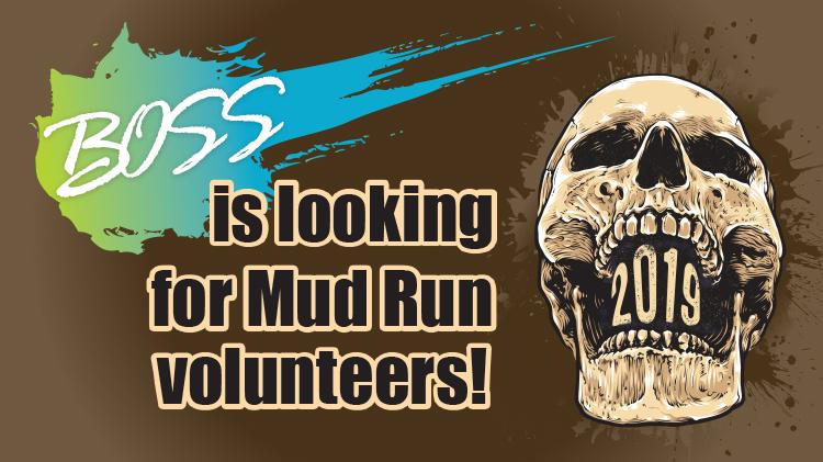 Volunteer for Mud Run