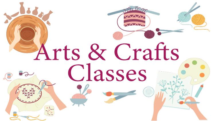 January Arts & Crafts Calendar