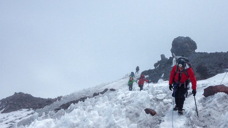 Glacier Climb Mount Adams
