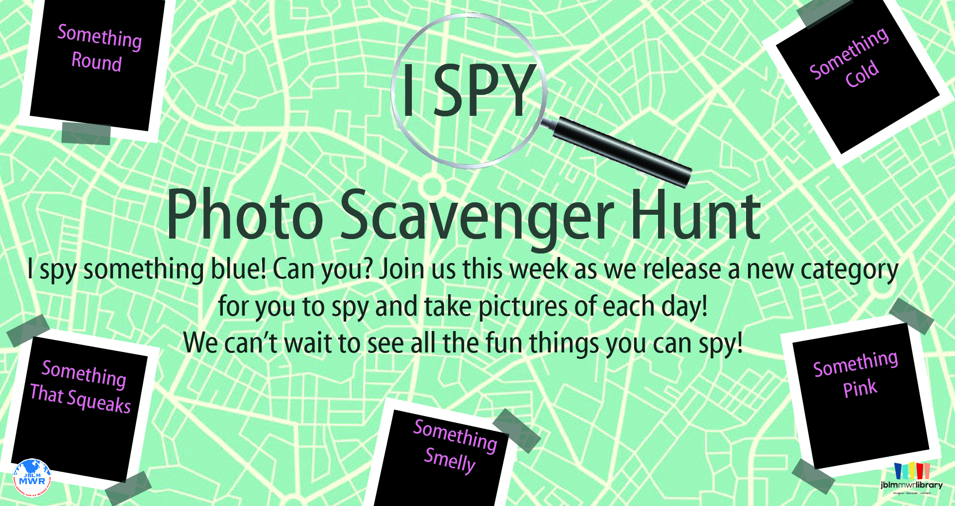 Virtual Summer Reading Program: I Spy Photo Scavenger Hunt