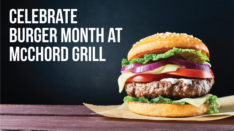 McChord Grill Burger Month Specials