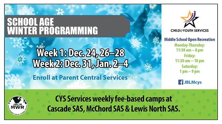 School Age Winter Programming