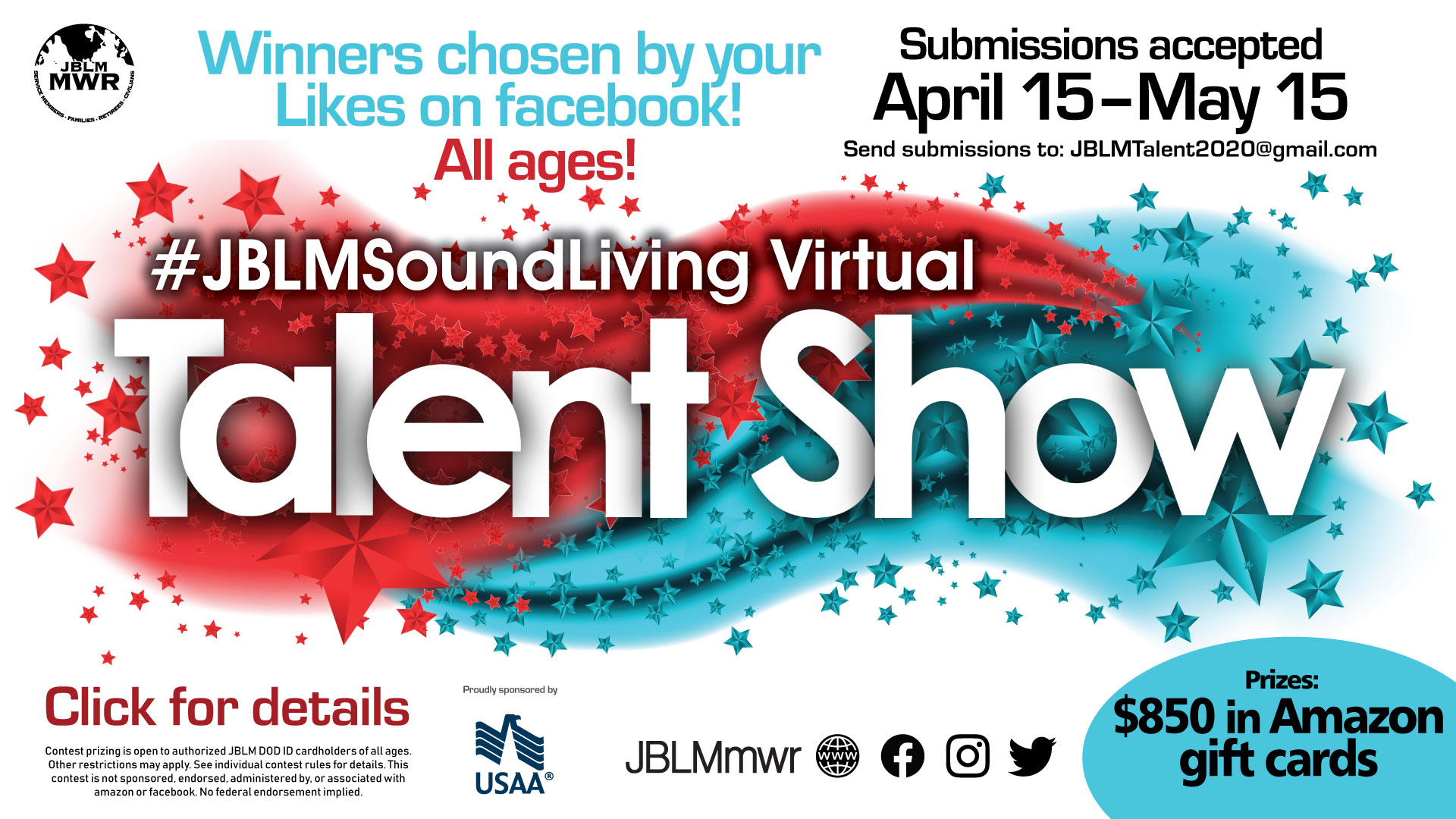 #JBLMSoundLiving Virtual Talent Show