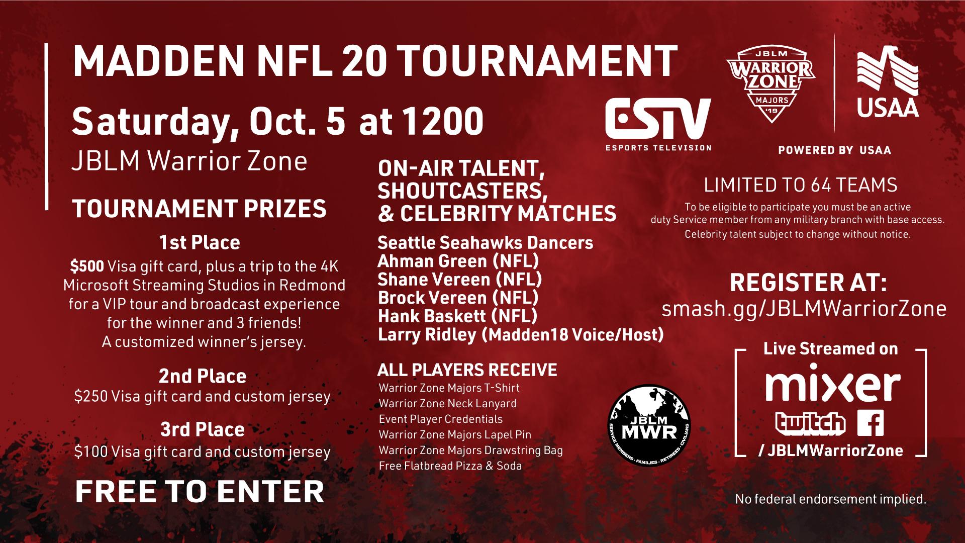 Madden NFL 20 Tournament