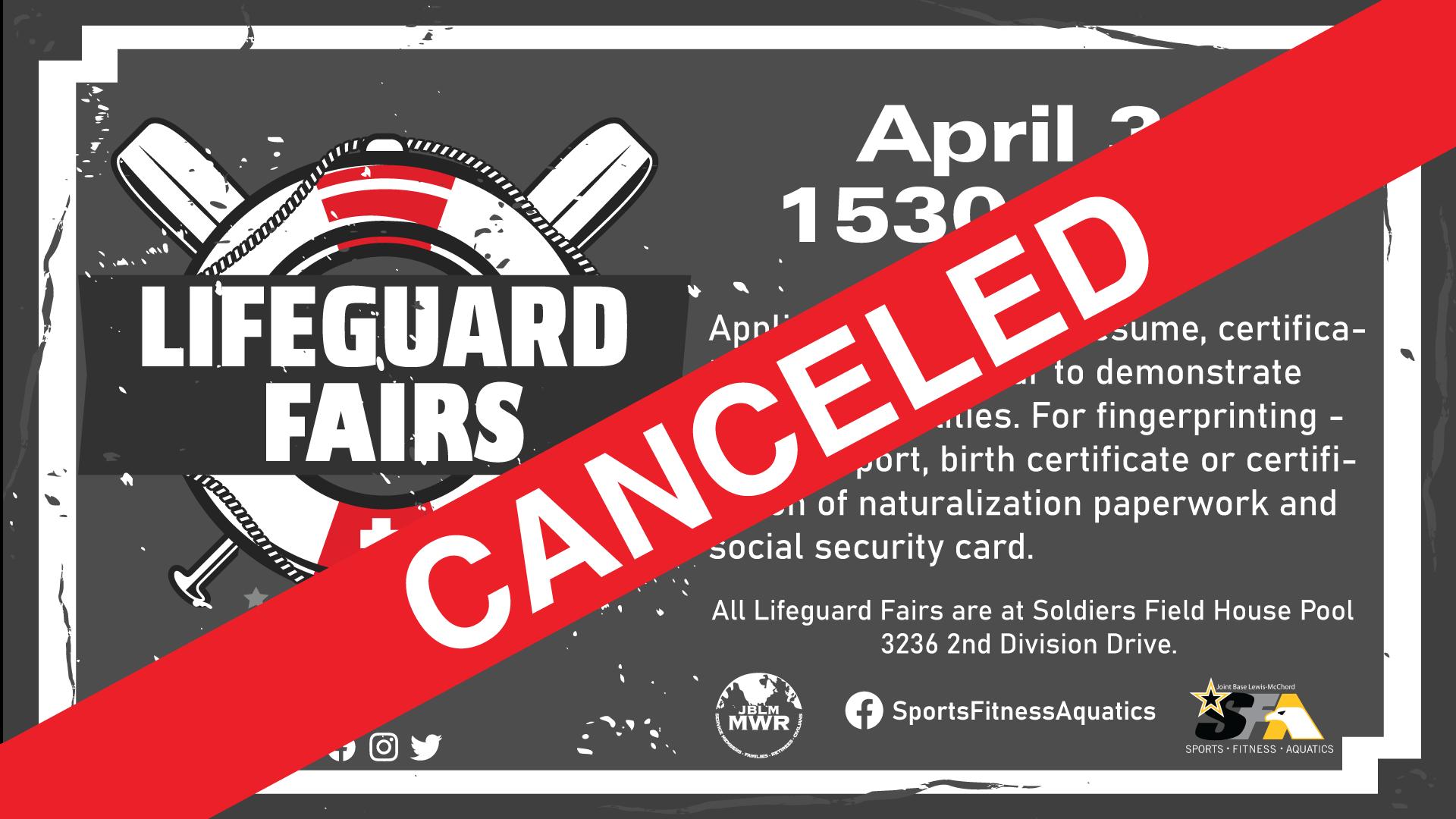 Lifeguard Hiring Fair