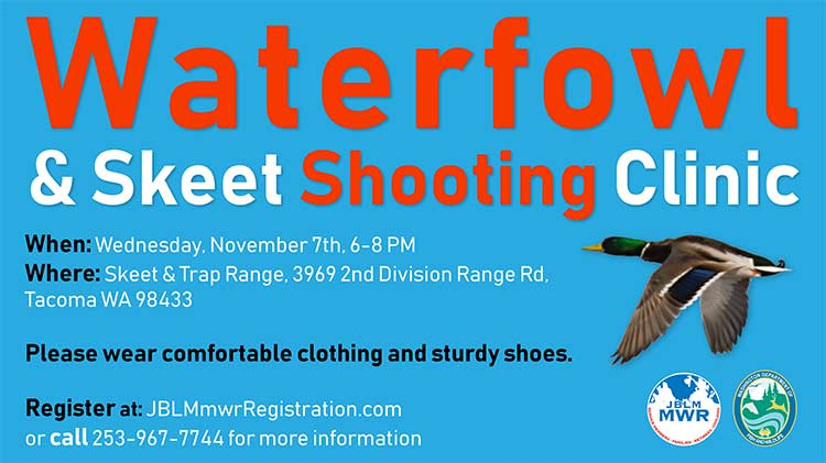 Waterfowl & Skeet Shooting Clinic