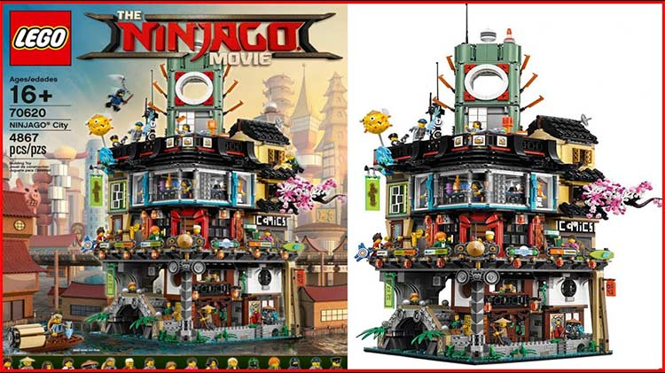 LEGO Ninjago for adults