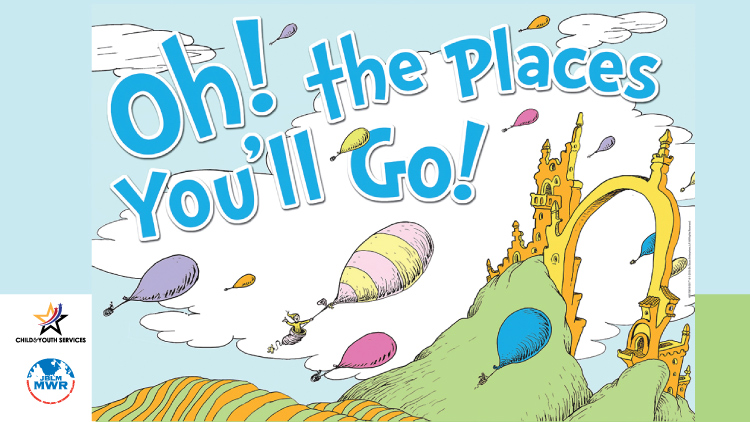Dr. Seuss Oh! the Places You'll Go!
