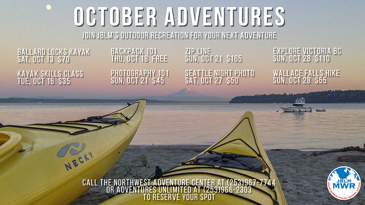 Outdoor Rec October Trips