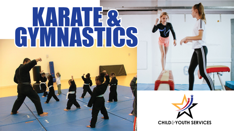Karate & Gymnastics are back!