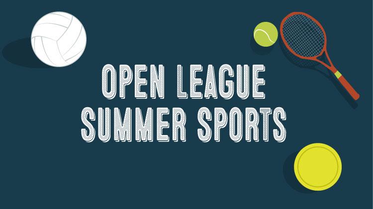 Open League Summer Sports Enrollment