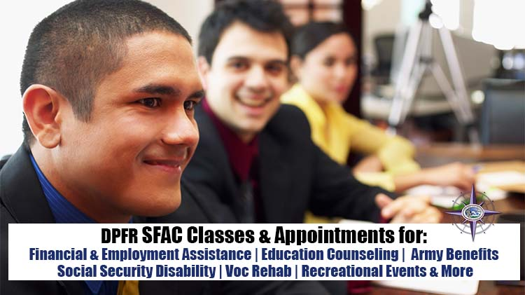 SFAC Classes & Appointments
