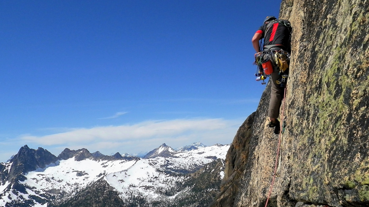 Rock climbing skills clinic