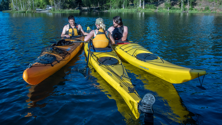 Intro to Sea Kayaking on American Lake