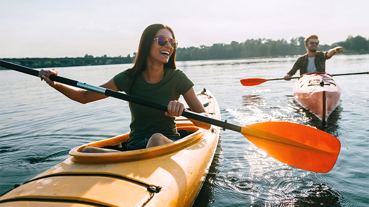 Kayak Ballard Locks