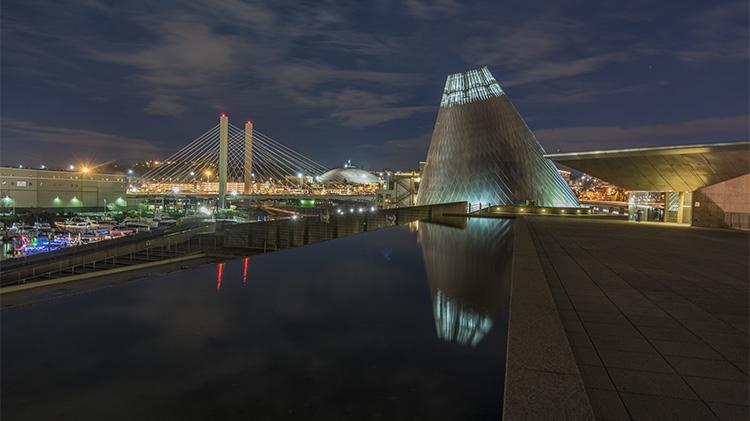 Tacoma Night Photo