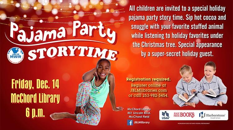 Pajama Party Storytime