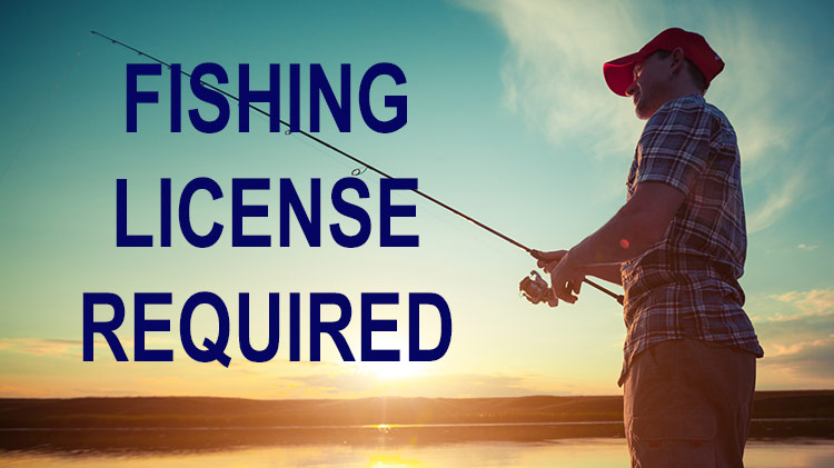 Fishing license required on JBLM