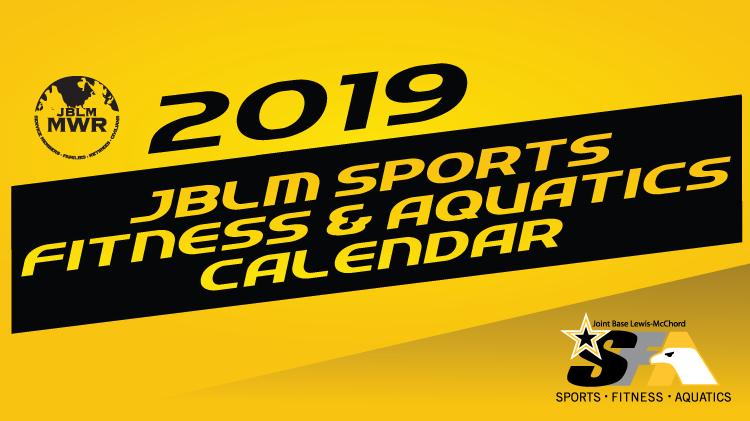 2019 Sports, Fitness & Aquatics Calendar