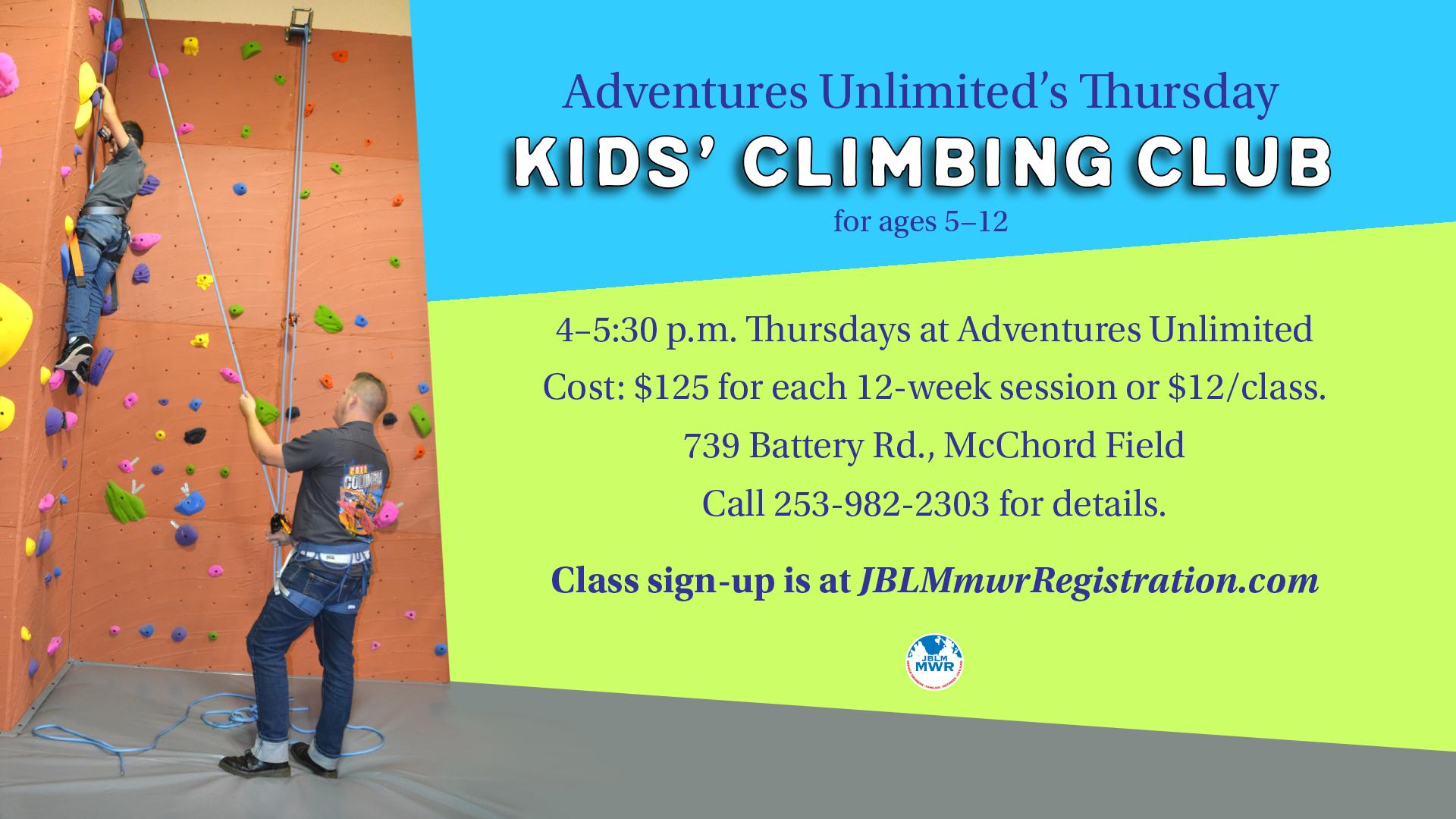 Kids' Climbing Club