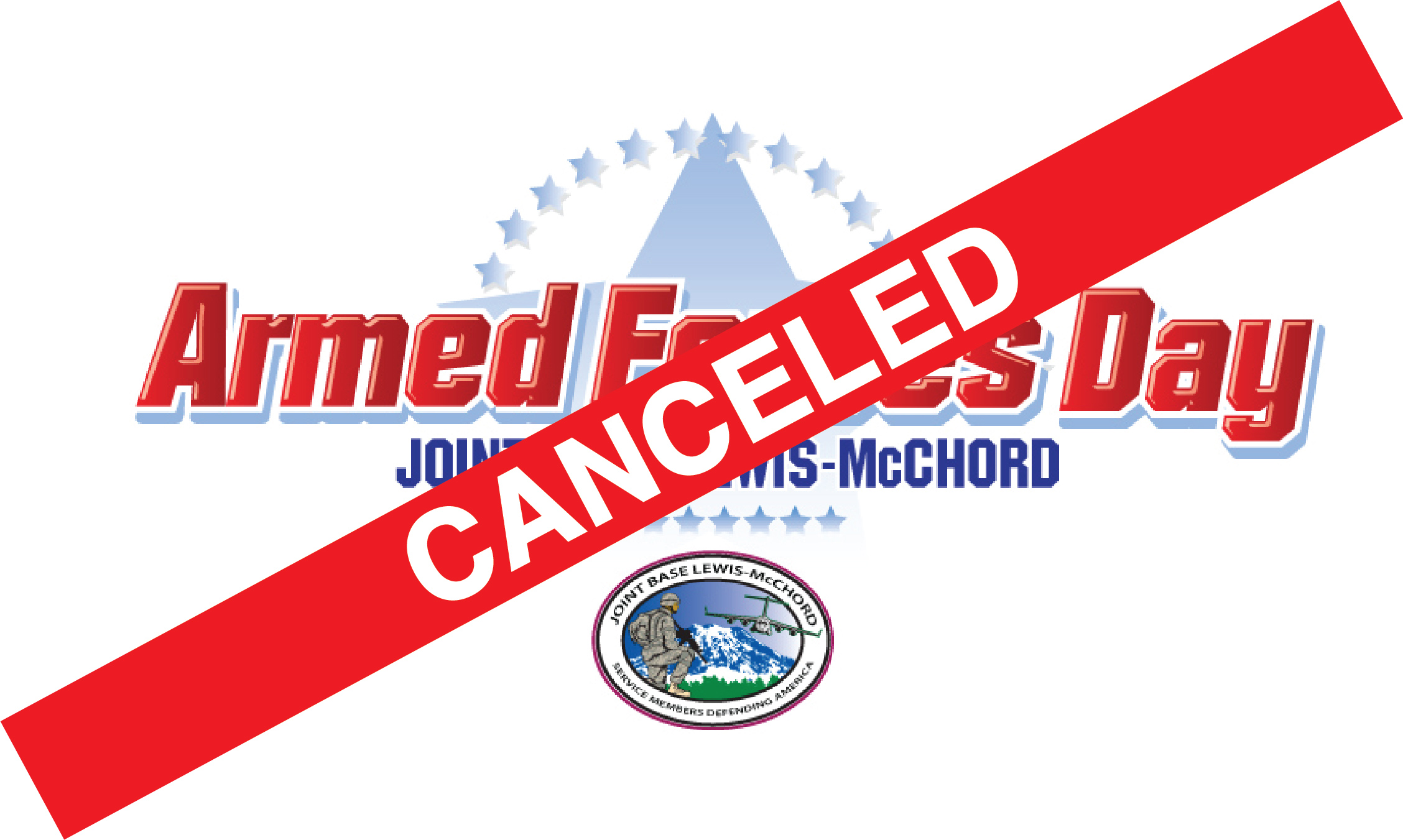 Armed Forces Day CANCELED