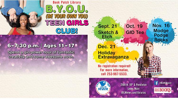 B.Y.O.U. Teen Girls Club