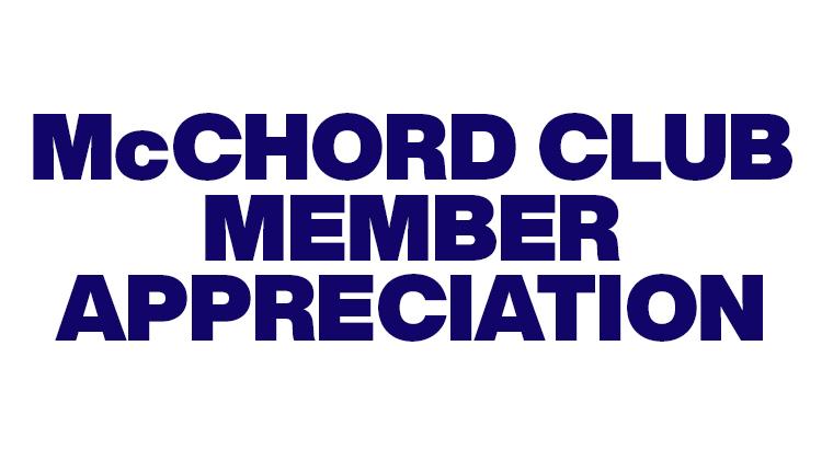 Club Member Appreciation Lunch