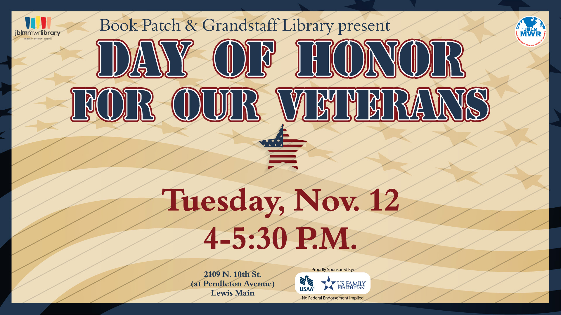 Day of Honor for our Veterans
