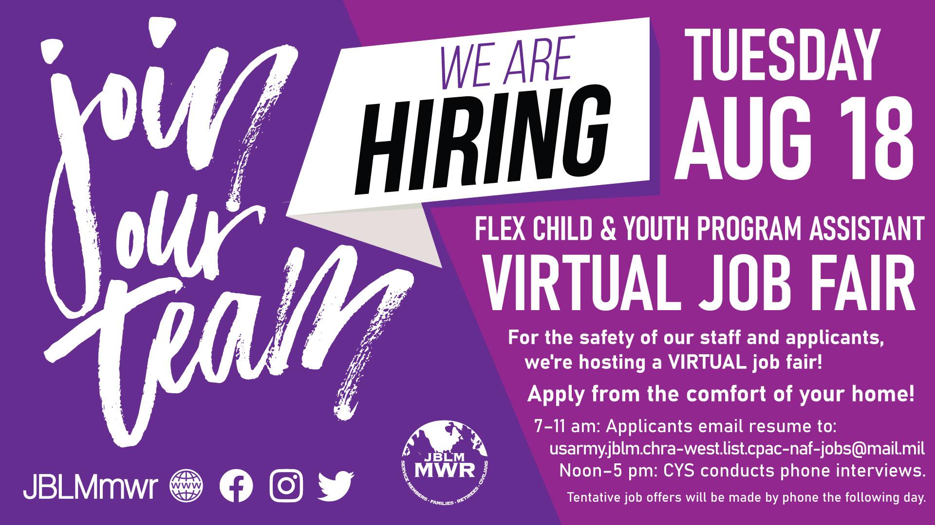 CYPA Virtual Job Fair