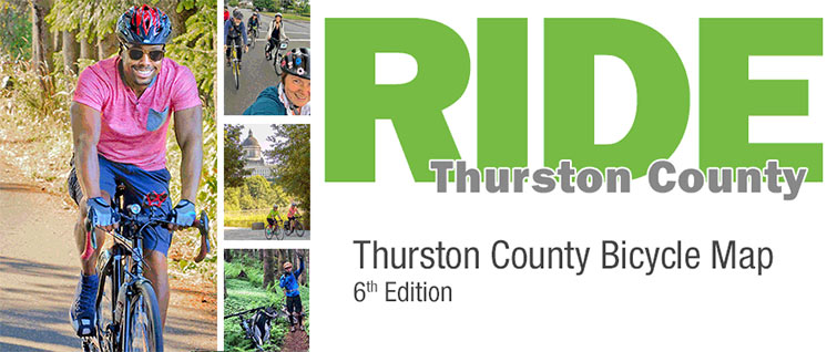 Ride your bike! Thurston County map