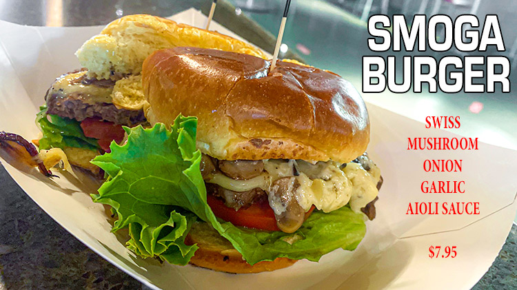 Try the SMOGA Burger!