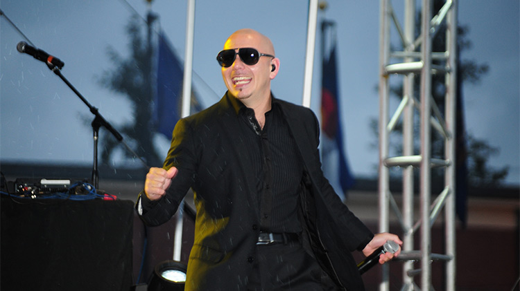 Pitbull Concert, May 3, 2012