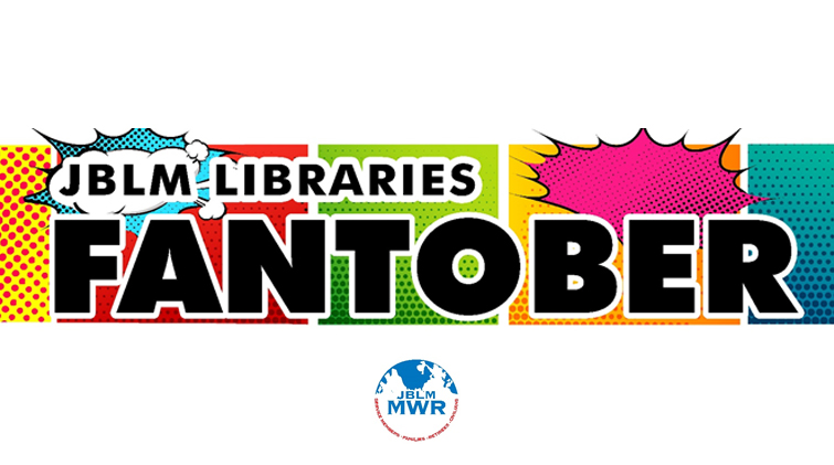 Join JBLM libraries for FANtober events!
