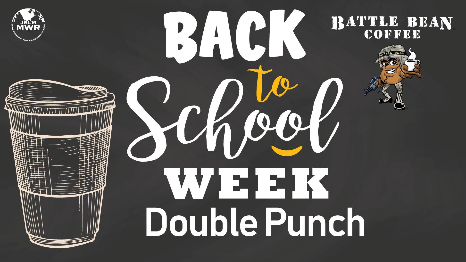 Back to School Week Double Punch