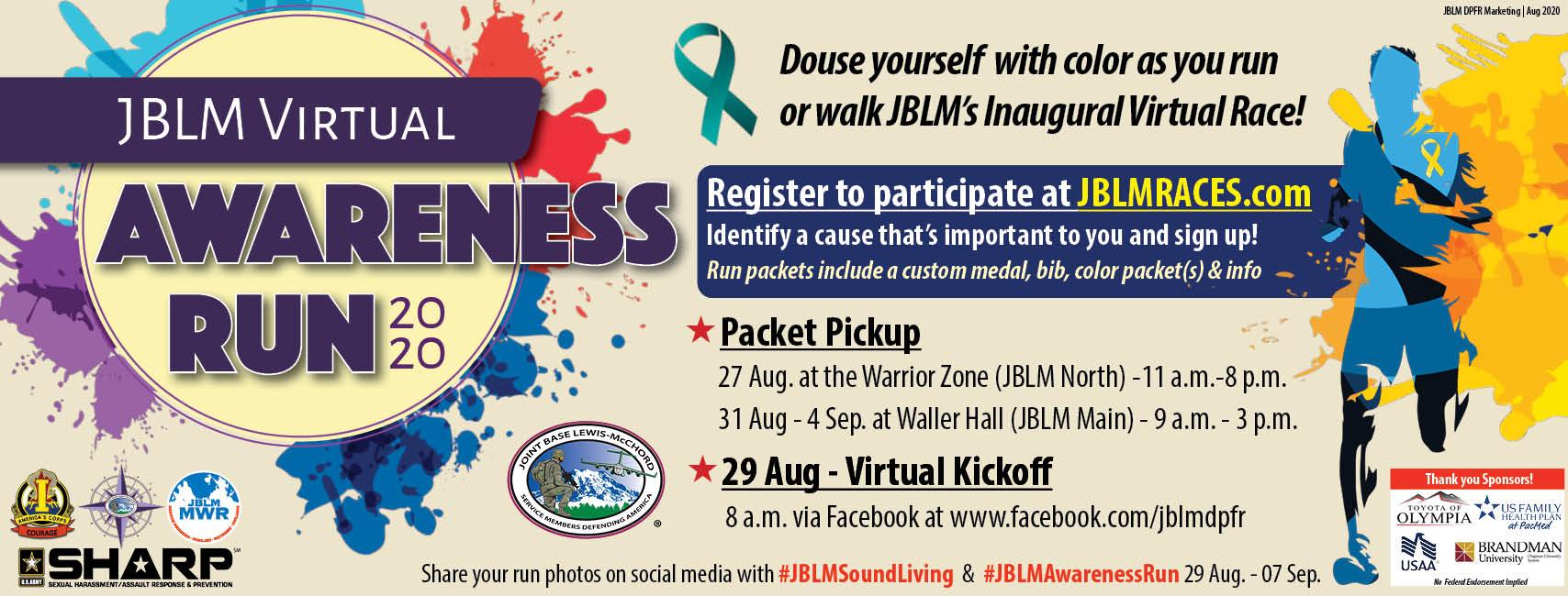 JBLM Virtual Awareness Run