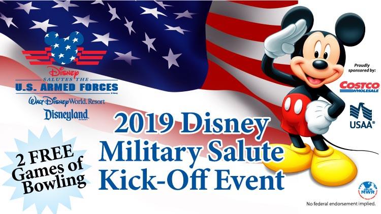 2019 Disney Military Salute Kick-Off