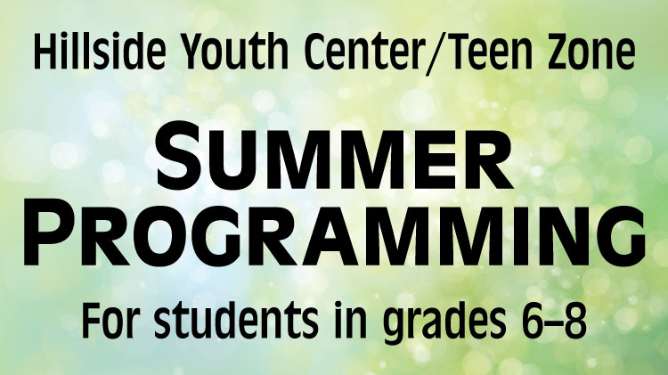 Hillside Youth Center Summer Camp Programs