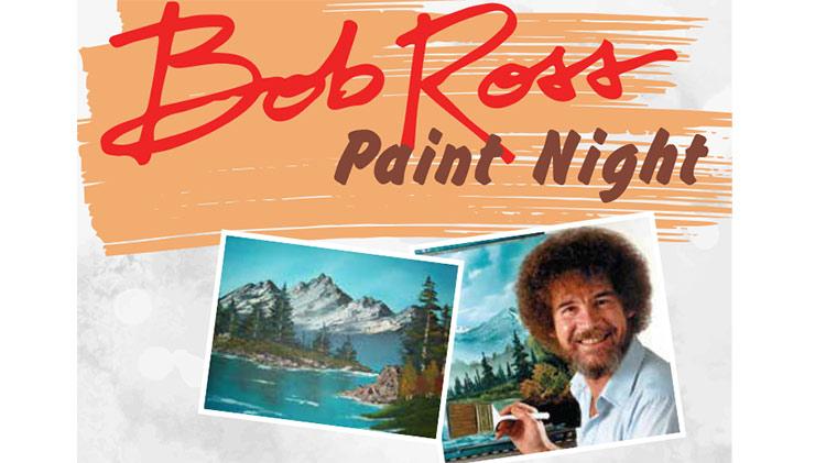 Bob Ross Paint Night