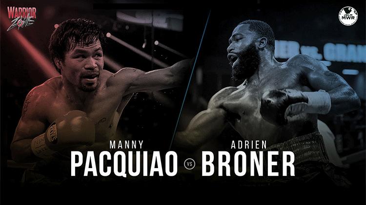 Pacquiao vs. Broner Welterweight World Championship
