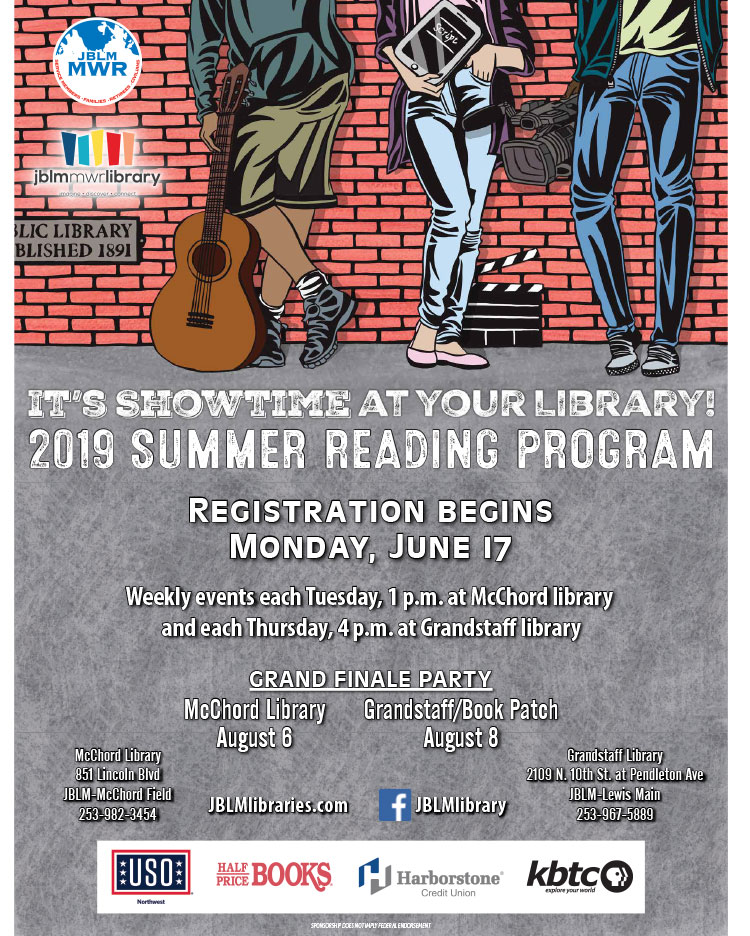 US Army MWR :: 2019 Summer Reading Program