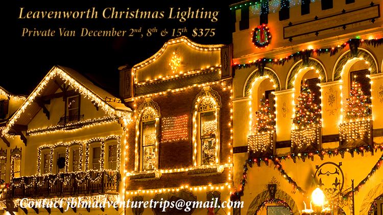 Leavenworth Christmas Lighting Festival Private Trip